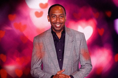 Stephen A. Smith serves up hot takes and hot tips about love.