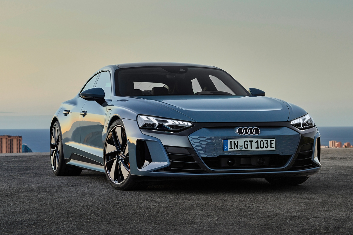 Audi E-Tron GT electric car