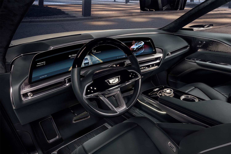 Cadillac Lyriq LED display