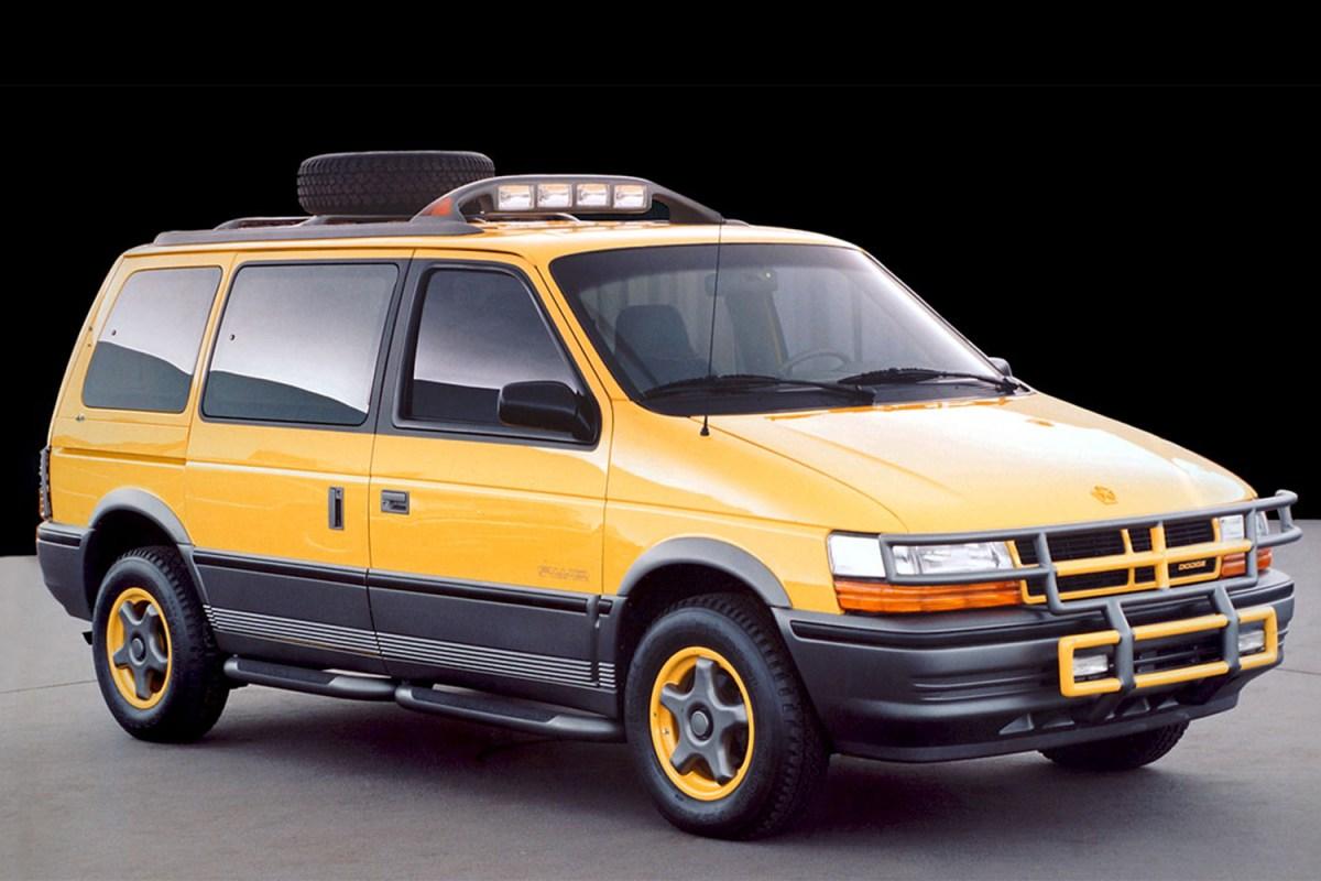 Dodge Caravan off-road minivan