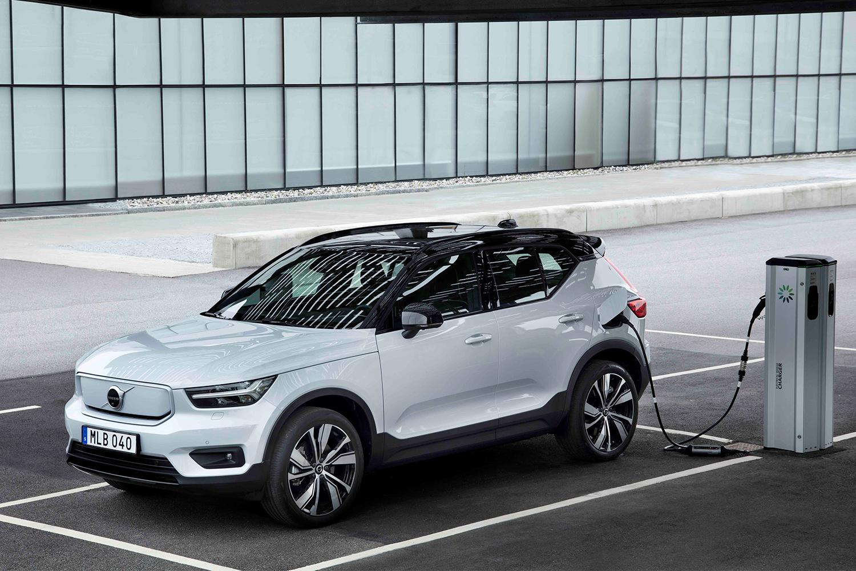 electric Volvo SUV