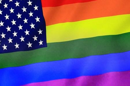 american gay pride flag