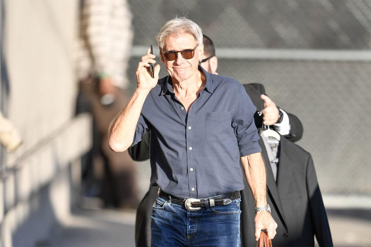 Harrison Ford Style Western Belt