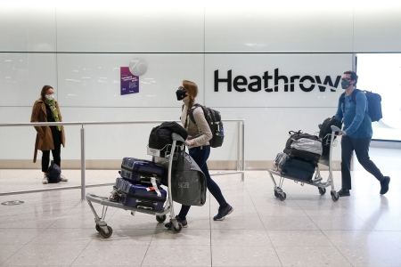 In the UK, Lying About COVID While Traveling Could Mean 10 Years in Jail