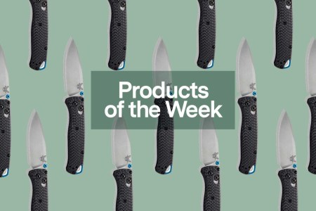 Products of the Week: Trench Coats, Benchmade Knives and a New YETI Collection