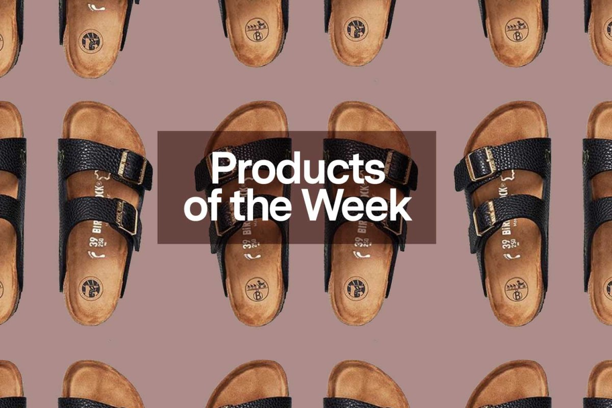 """Products of the Week: Keychain Masks, """"Birkinstocks"""" and a Rowing Blazers x NBA Collab"""