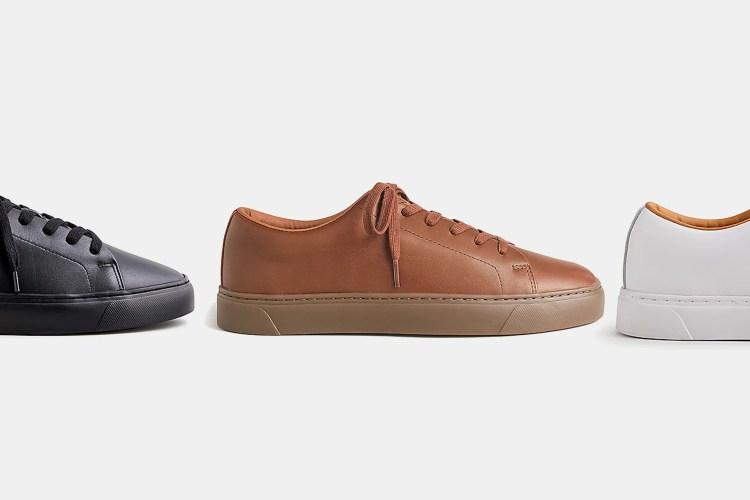 J.Crew men's Court Sneakers