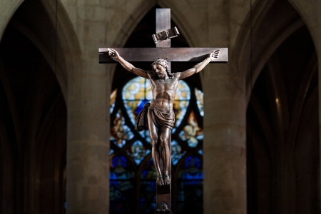 Statue of Jesus Christ on cross