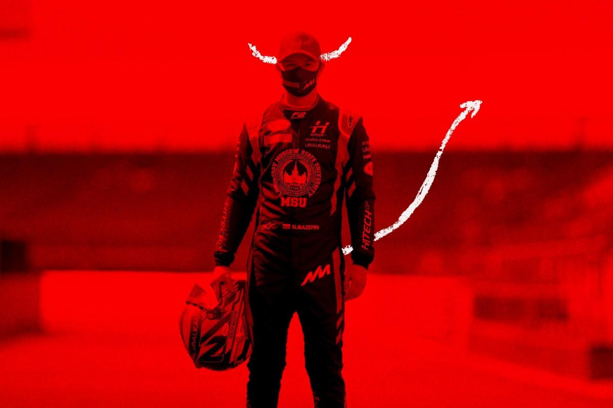 nikita mazepin as the devil