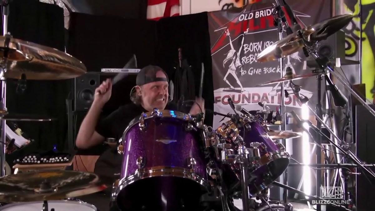 Metallica at BlizzConline