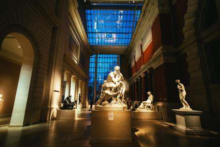 The Metropolitan Museum of Art statues