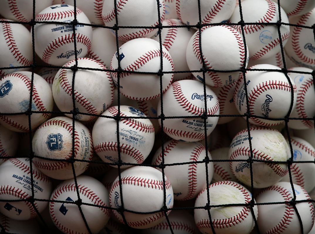 MLB Rawlings baseballs