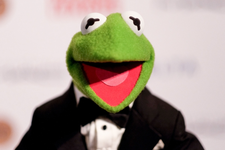 kermit the frog in a suit