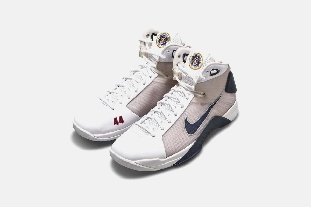 President Barack Obama Player Exclusive Nike Hyperdunk
