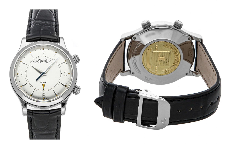 Jaeger-LeCoultre Master Memovox Alarm Manual 36mm Steel Mens Watch Q1448170 ebay otto bell