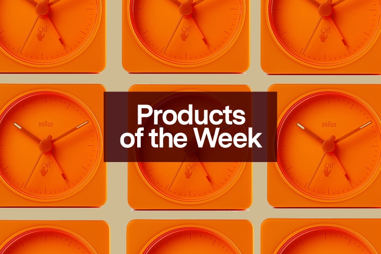 "Products of the Week: Off-White Alarm Clocks, ""Popcorn"" Nikes and a New YETI Colorway"