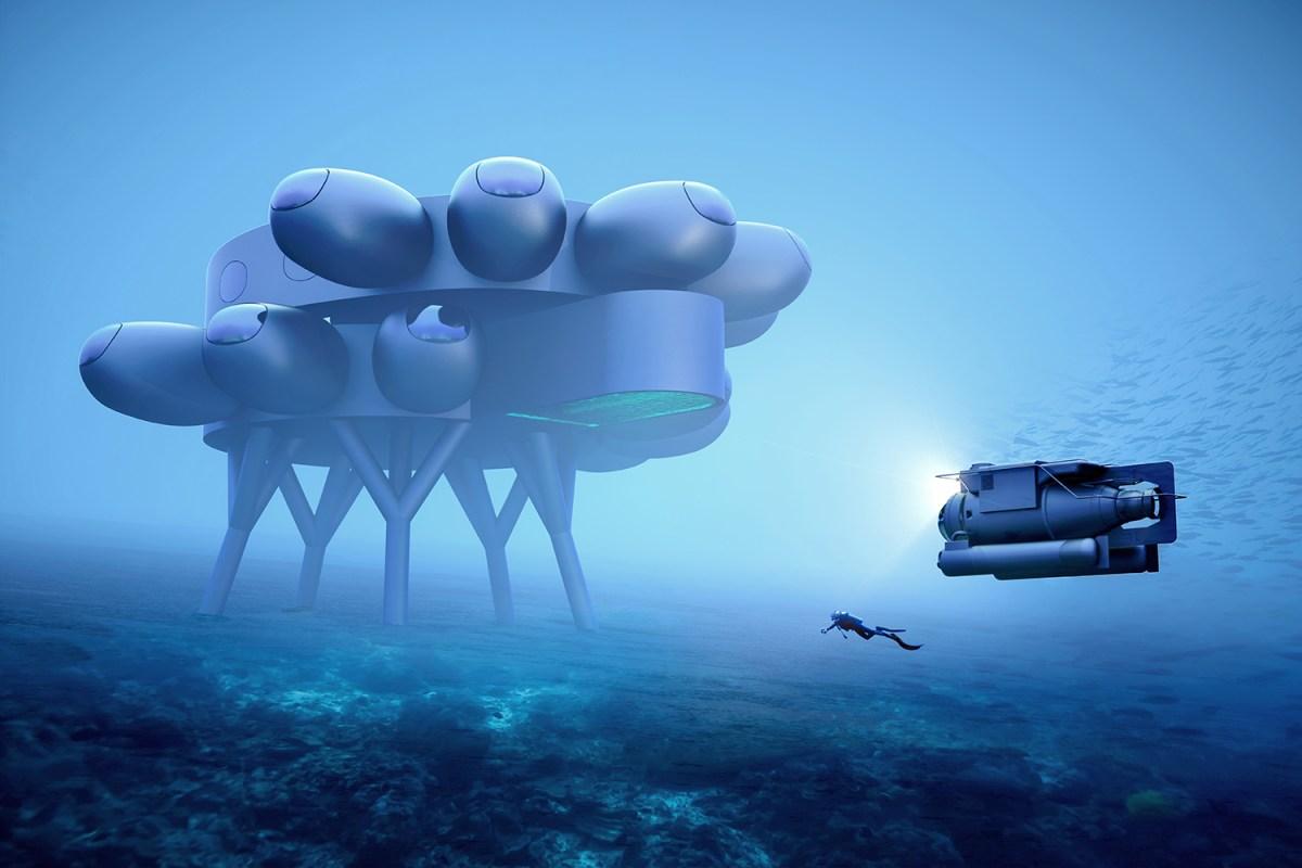 Fabien Cousteau Project Proteus