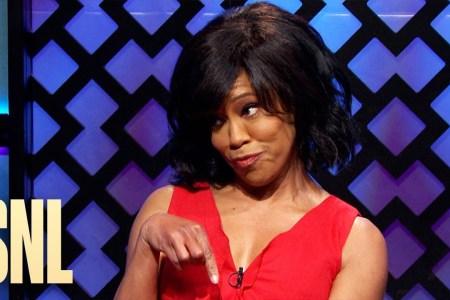 "Regina King on ""SNL"""