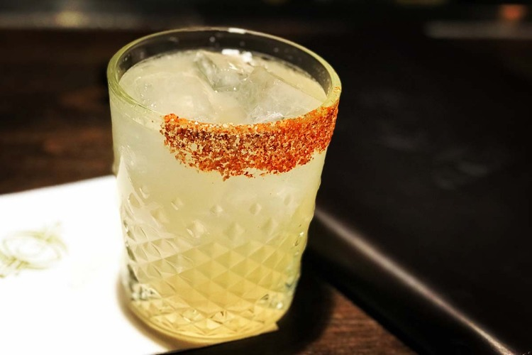 The Gage's Habañero Margarita