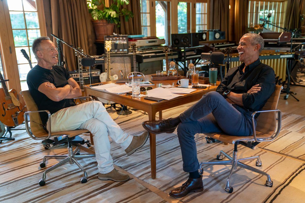 Bruce Springsteen and Barack Obama podcast