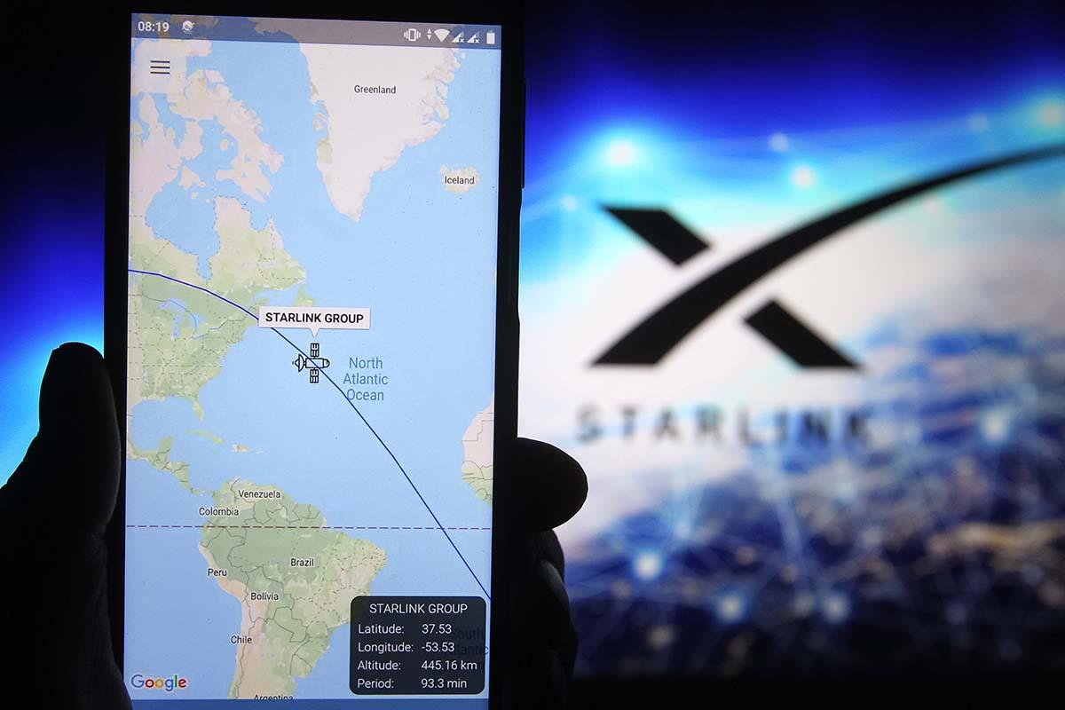 SpaceX Starlink satellite internet