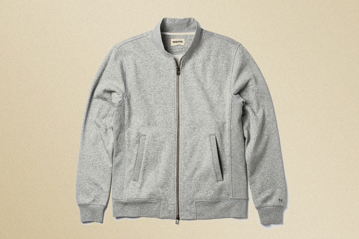 Taylor Stitch Fleece Bomber Jacket
