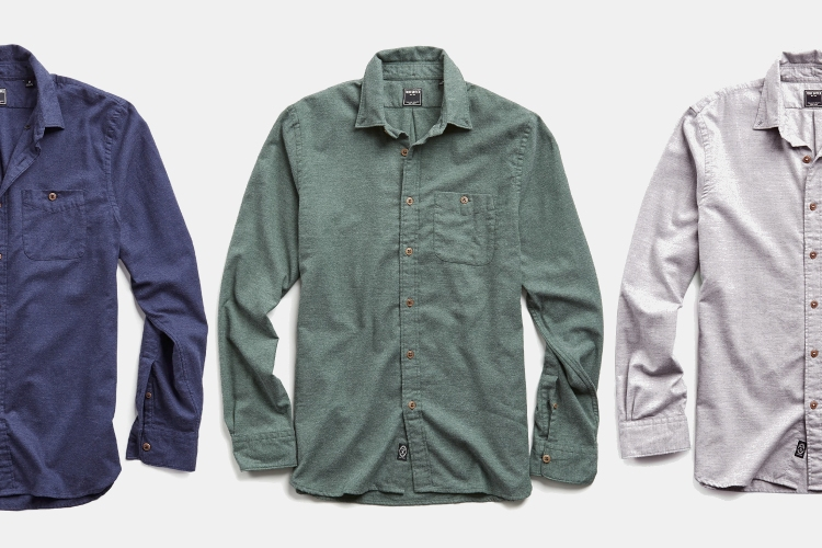 Deal: Save $104 on Todd Snyder's Cotton Cashmere Twill Shirt