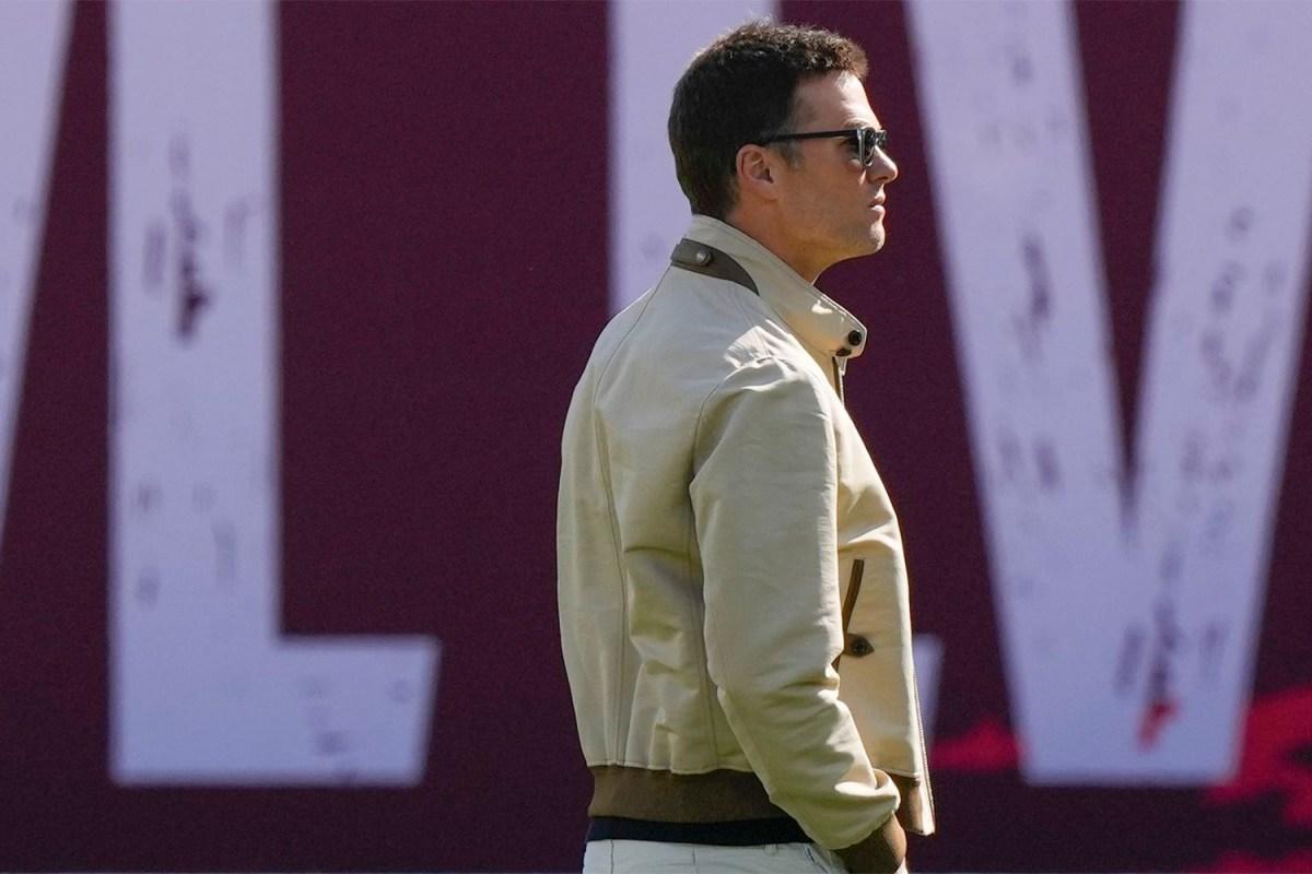 Tom Brady Super Bowl Arrival Outfit