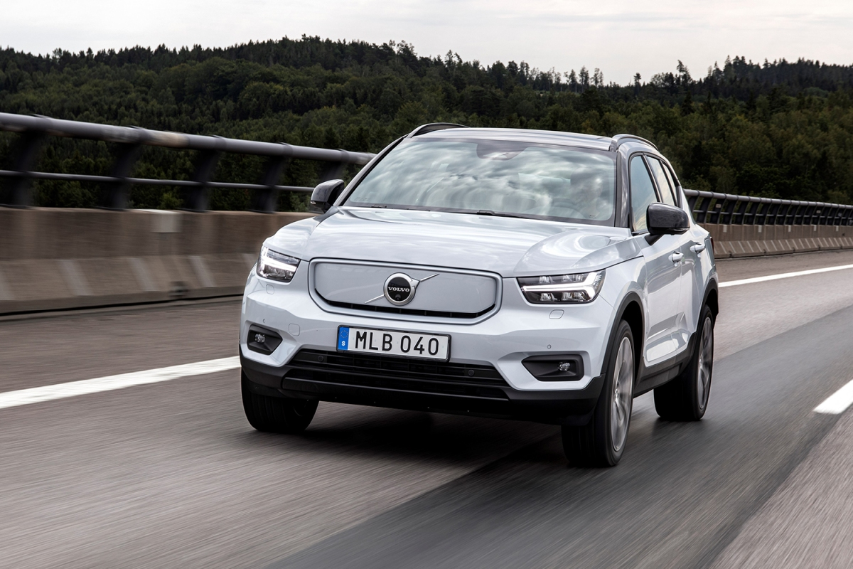 2021 Volvo XC40 Recharge electric SUV