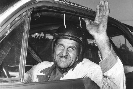 Wendell Scott In His Car