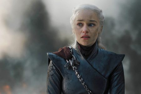 """Emilia Clarke as Daenerys on HBO's """"Game of Thrones"""""""