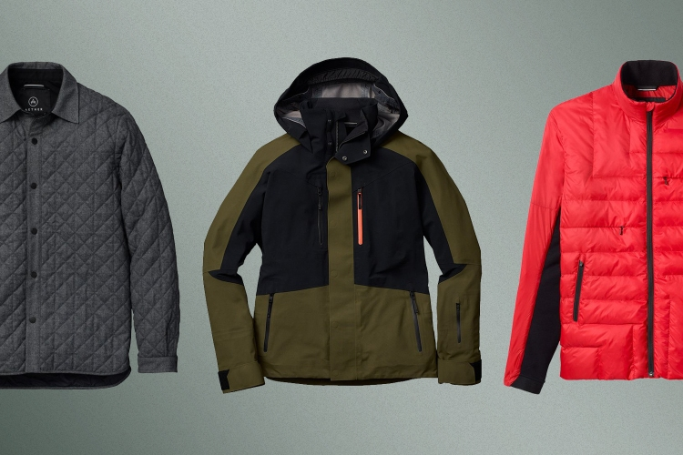 Aether men's jackets