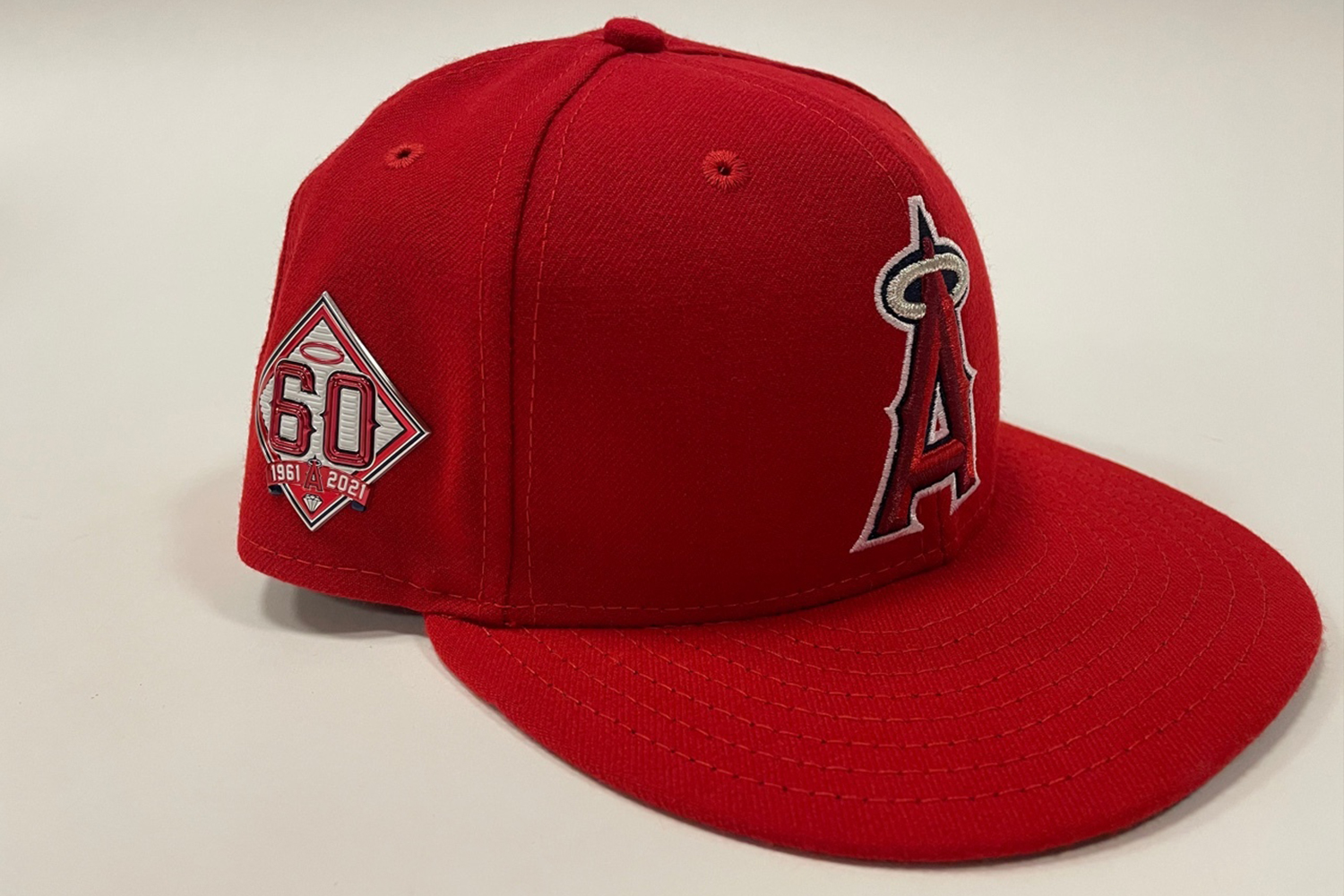 60th anniversary commemorative hat patch