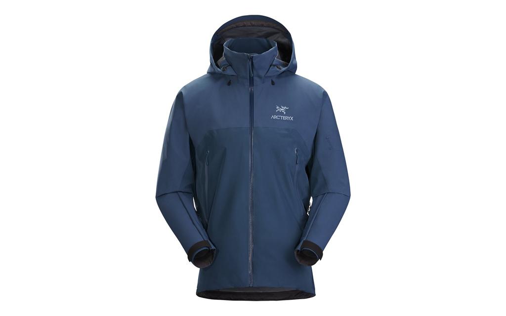 Arc'teryx Beta AR Rain Jacket in dark blue