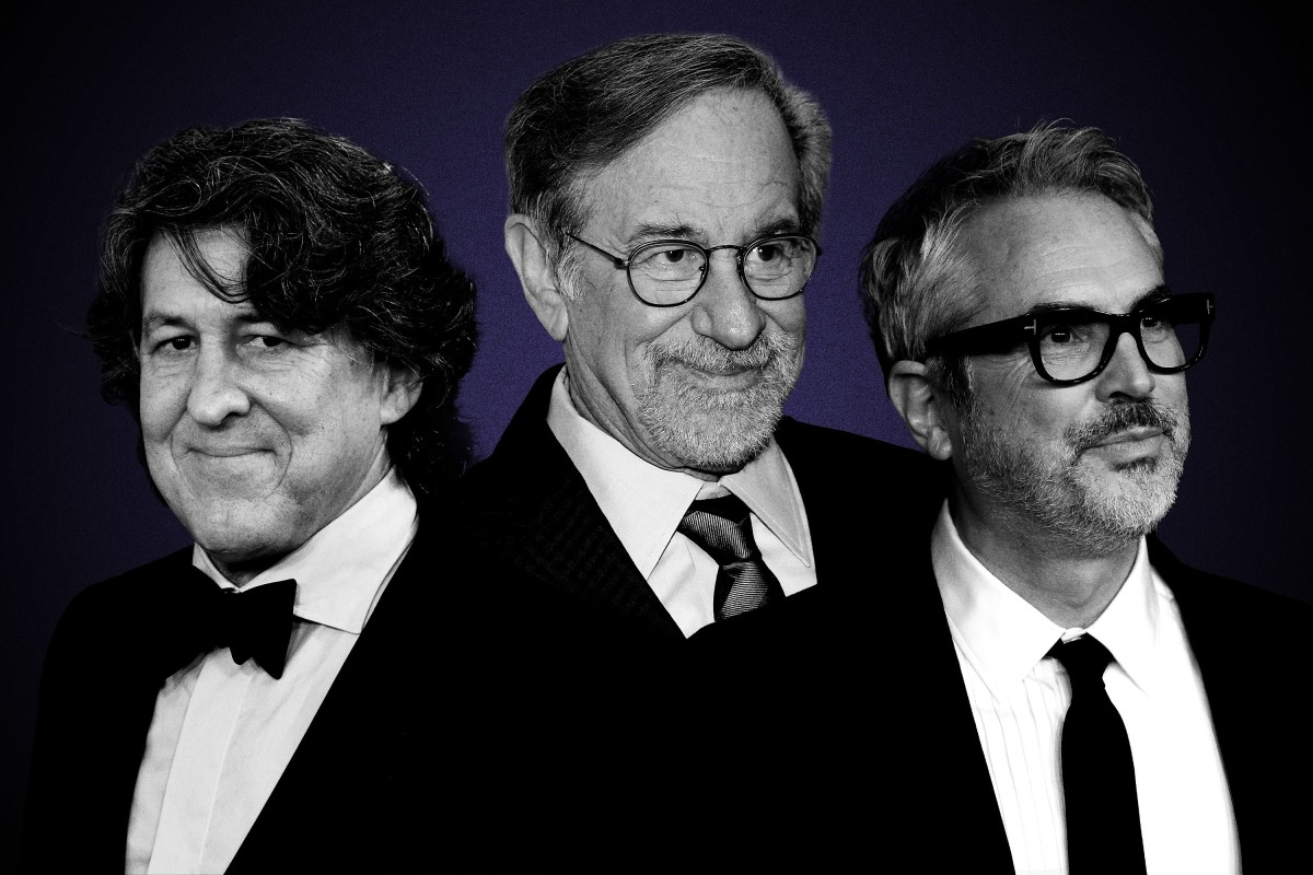 Cameron Crowe, Steven Spielberg and Alfonso Cuaron