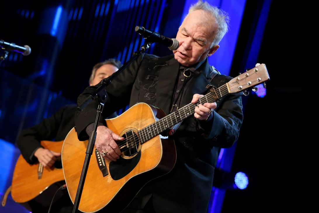 John Prine performs at the Country Music Hall of Fame and Museum on September 25, 2019 in Nashville, Tennessee.