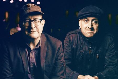 Craig Finn and Franz Nicolay of the Hold Steady