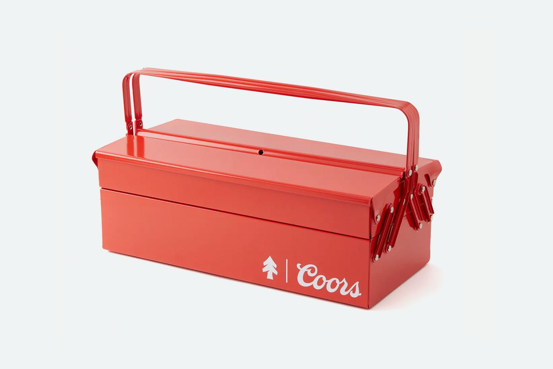 Huckberry x Coors Banquet Toolbox