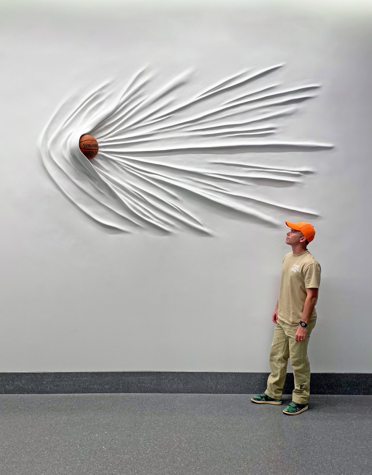 daniel arsham moving basketball