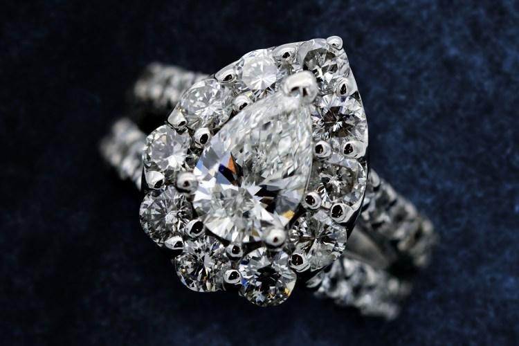 Beautiful diamond engagement ring