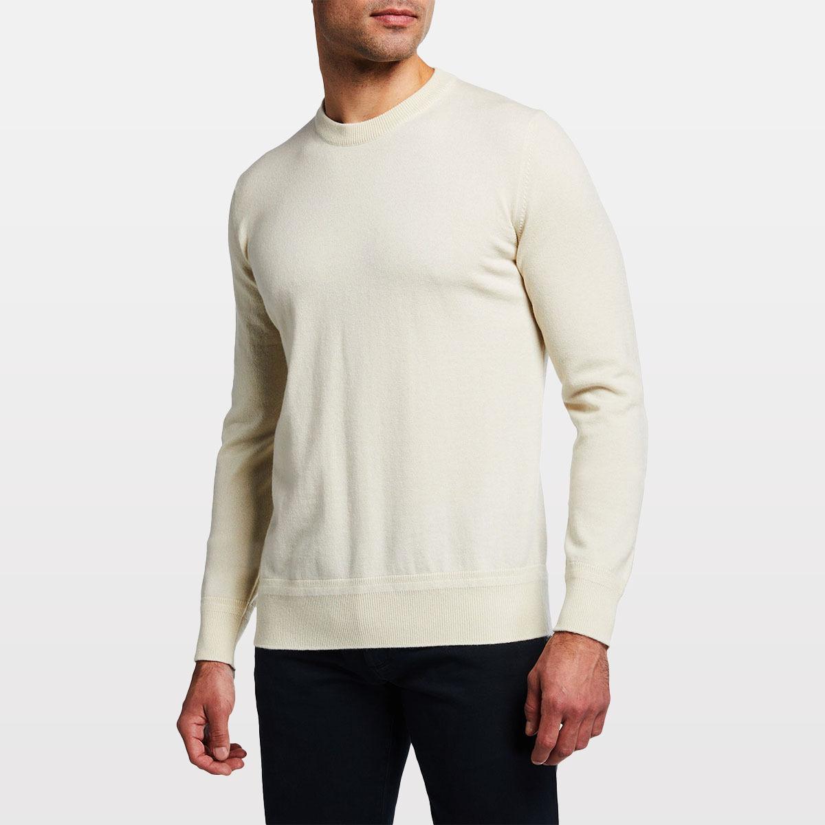 Loro Piana Castlebay Crewneck Cashmere Sweater neiman marcus
