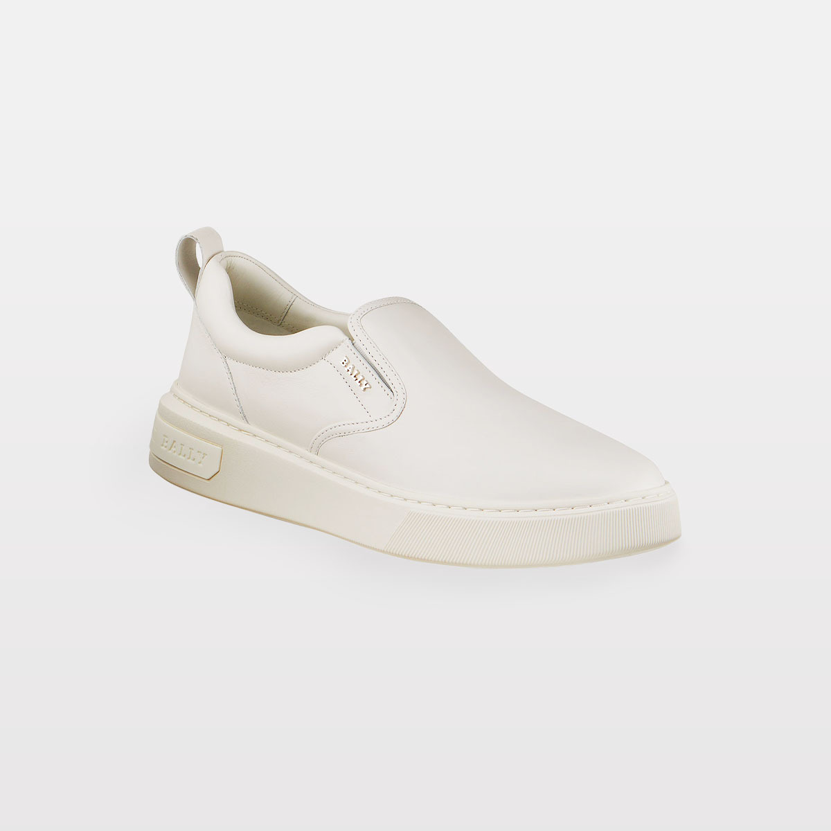 Bally Mardy 07 Tonal Calfskin Slip-On Sneakers NEIMAN MARCUS