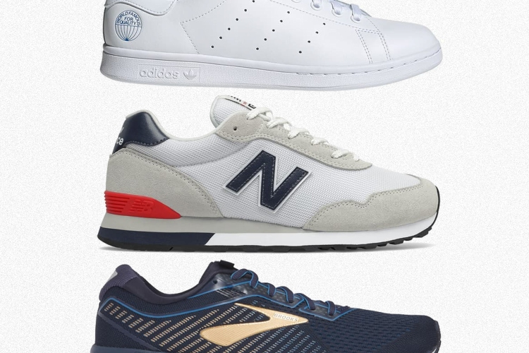 Adidas, New Balance and Brooks sneakers