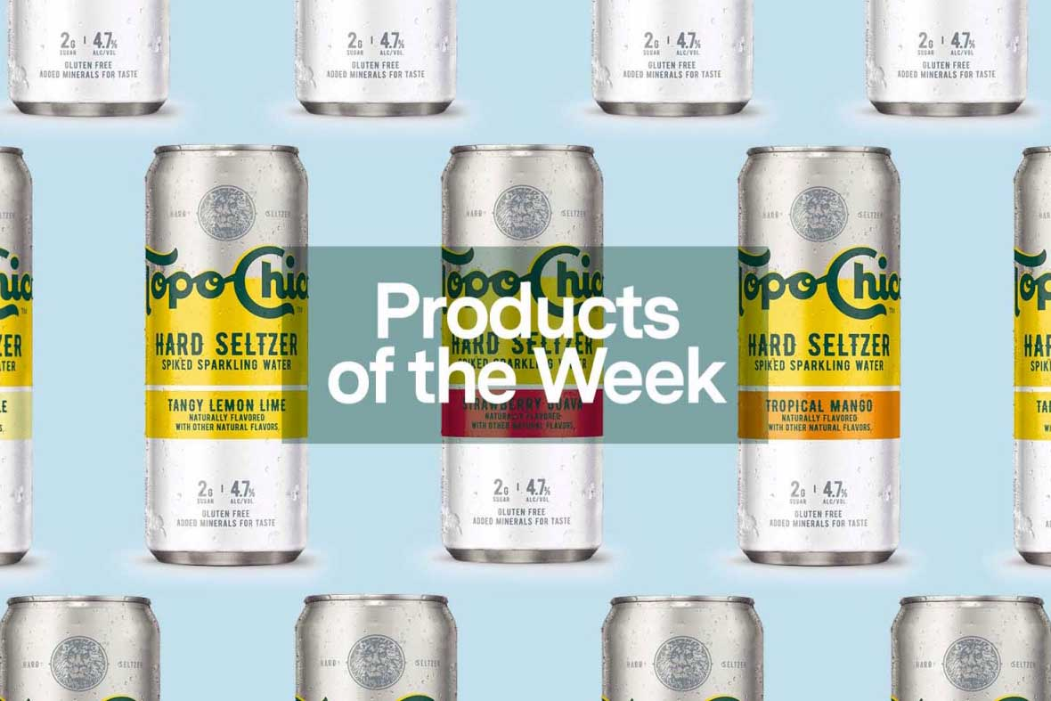 cans of topo chico hard seltzer