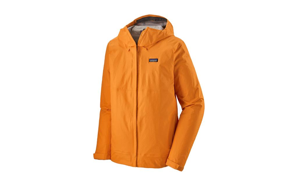 Patagonia Torentshell 3L Rain Jacket in bright yellow