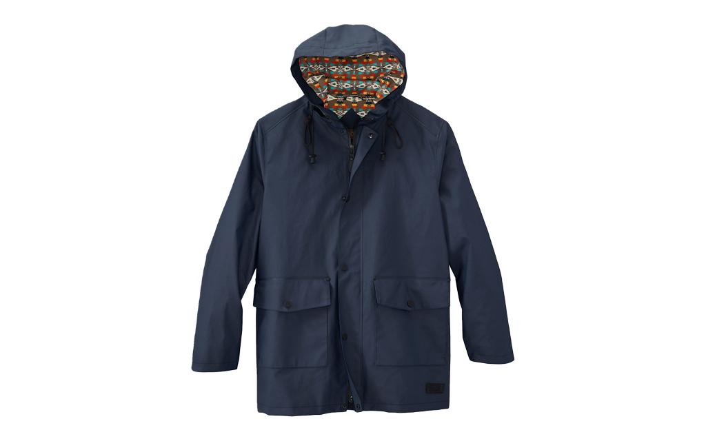 Pendleton Seal Rock Waterproof Rain Jacket in grey