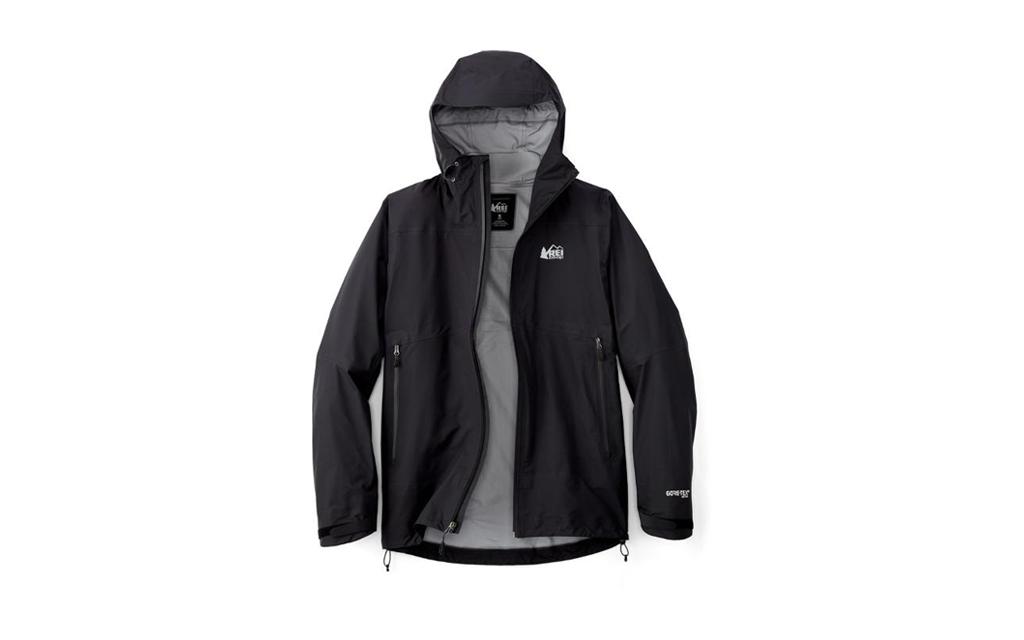 REI Co-op Drypoint GTX Rain Jacket in black