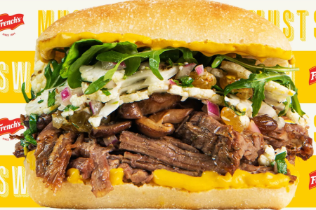 The Secret Ingredient in Tom Colicchio's New Steak Sandwich? Mustard