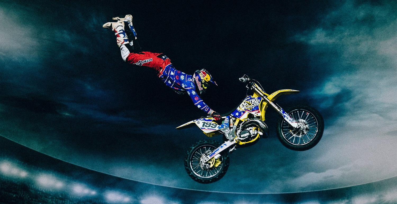 Action sports star Travis Pastrana