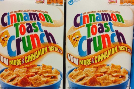 Curse you Cinnamon Toast Crunch for bringing this discourse upon us.